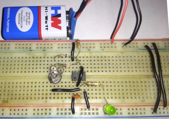 555 Timer PWM Generator Circuit