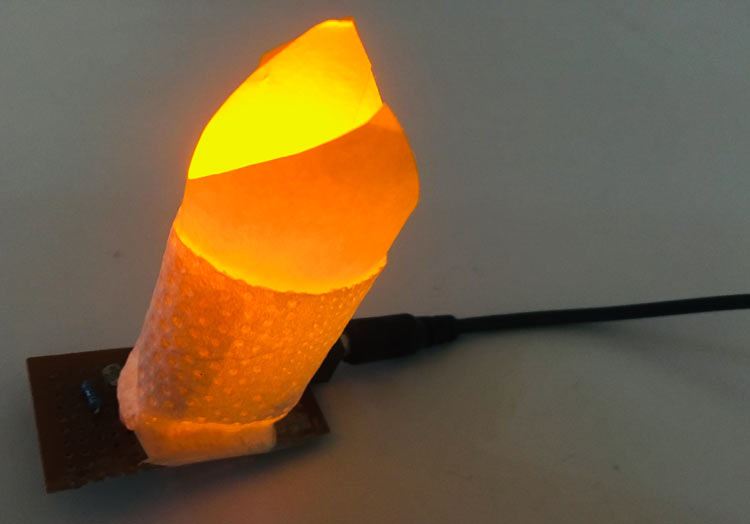 Smart Electronic Candle using LDR