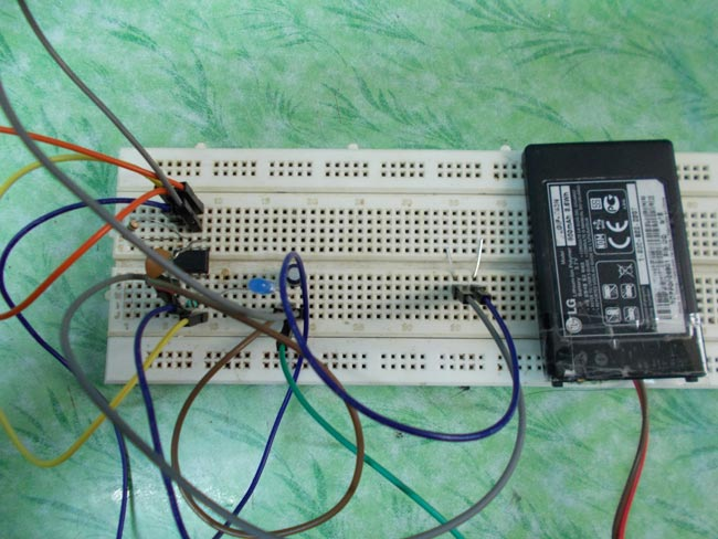 Simple Touch Switch Circuit Diagram using 555 Timer IC