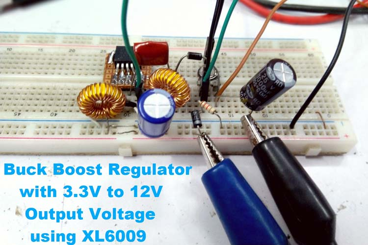 Buck Boost Regulator using XL6009