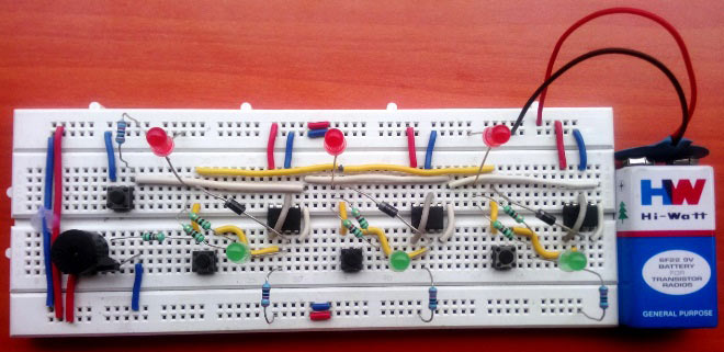 school college quiz buzzer circuit diagram using 555 timer ic 8 player quiz buzzer