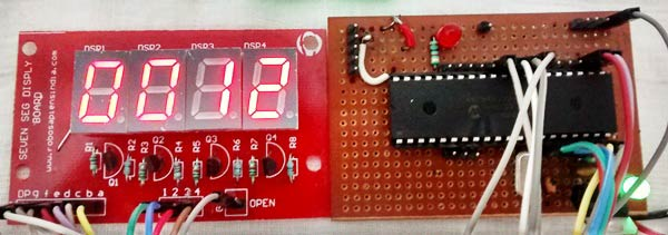 7 Segment Display Interfacing with PIC Microcontroller