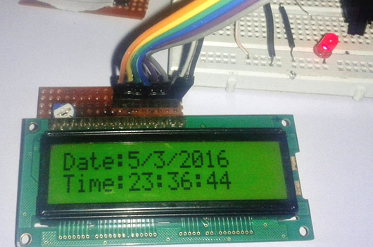Digital Clock using 8051 Microcontroller