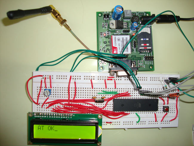 interfacing gsm modem with 8051 to receive sms I did one project using 8051 and gsm modem to send and receive sms now i am interested to modify the project to ivr is that possible if so where i can refer how to connect audio with 8051 and gsm.