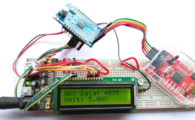 Nuvoton N76E003 Microcontroller ADC