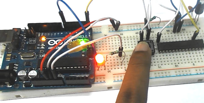 UART Communication between ATmega8 and Arduino Uno