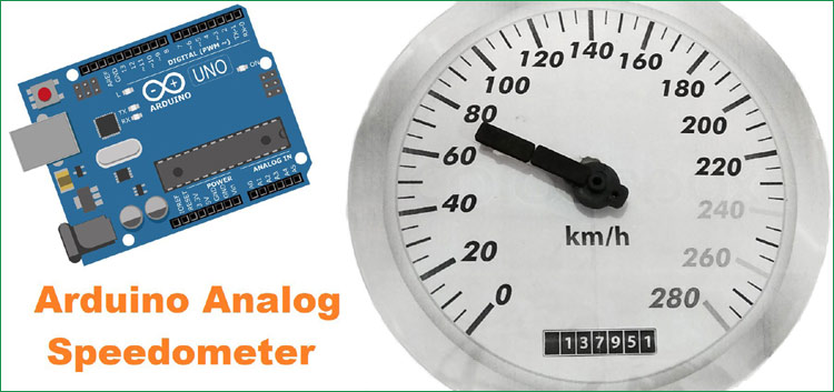 Arduino Based Analog Speedometer Using IR Sensor