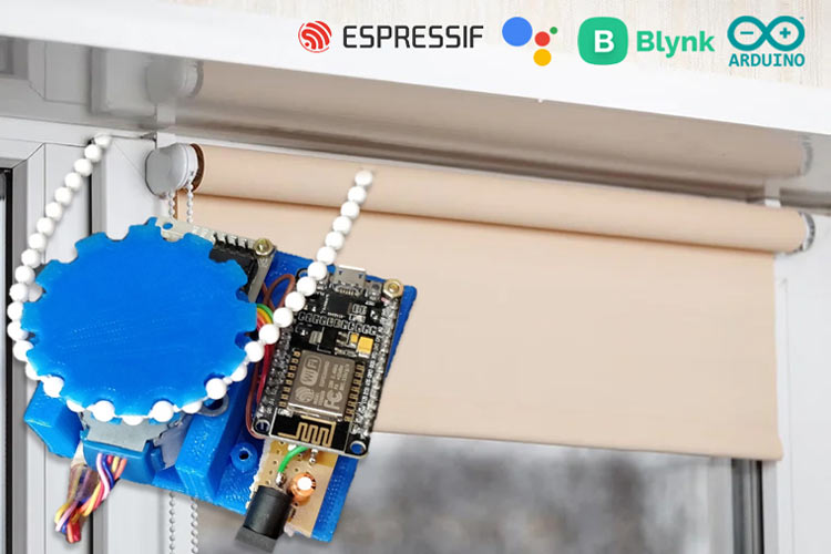 Arduino based Window Blinds Controller
