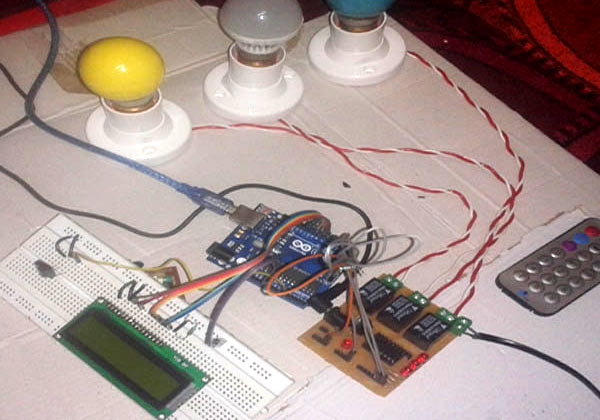 Fantastic Ir Remote Controlled Home Automation Project Using Arduino Wiring 101 Akebretraxxcnl