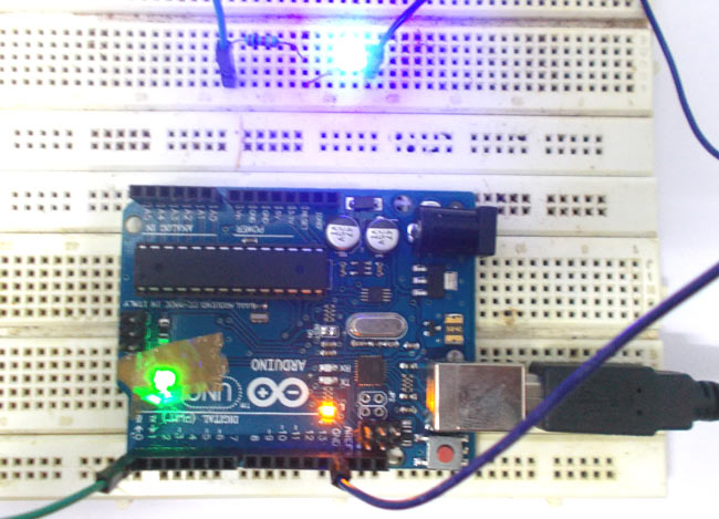 Led Blinking With Arduino Uno Circuit And Code