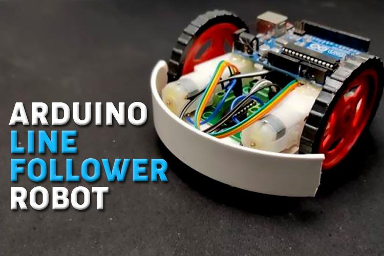 Arduino based Line Follower Robot