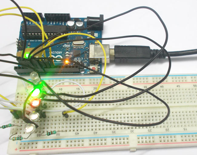 Arduino RGB LED Interfacing