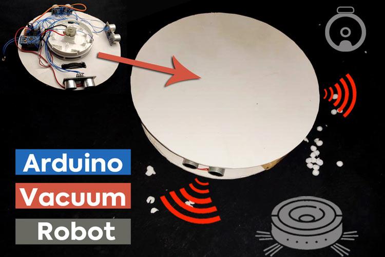 Arduino based Smart Vacuum Cleaner Robot
