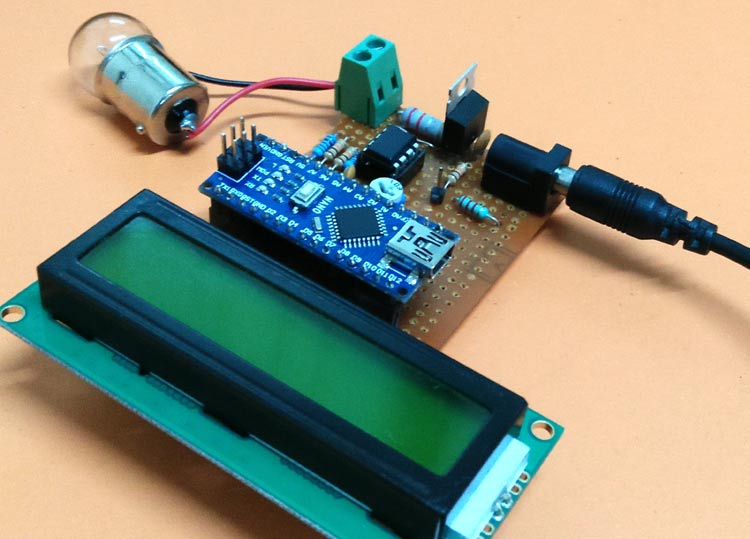 Arduino Wattmeter: Measure Voltage, Current and Power