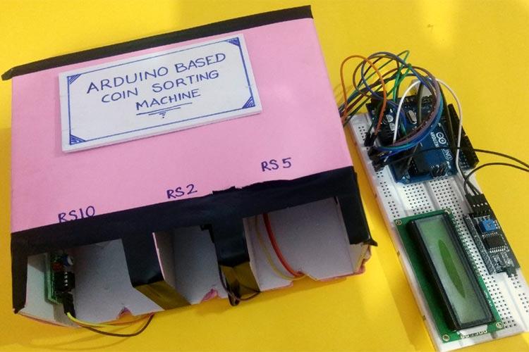 Coin Sorting Machine using Arduino