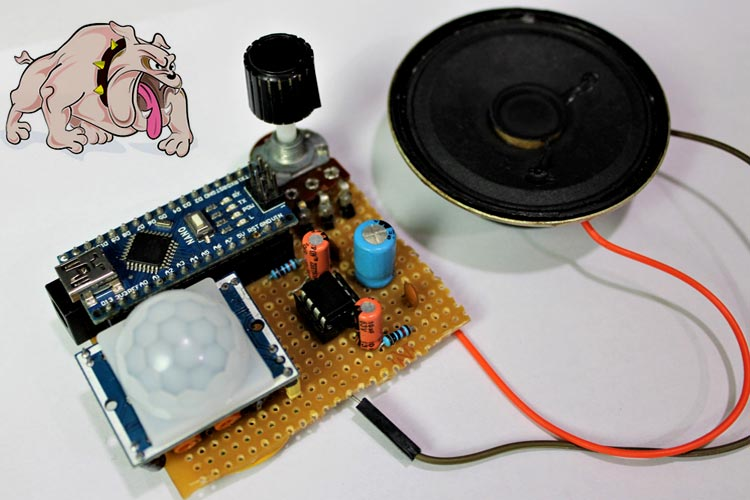 Dog-Barking-Security-Alarm-using-Arduino