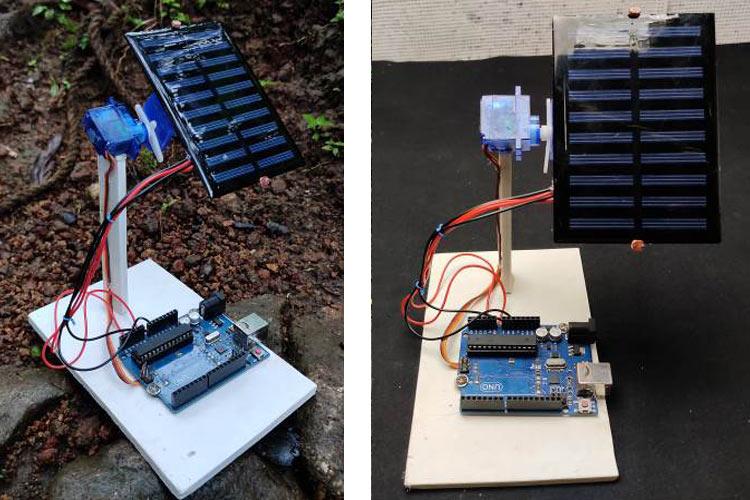 Arduino based Sun Tracking Solar Panel