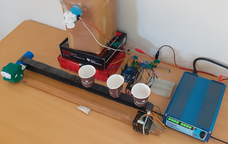 Automatic Bottle Filling System using Arduino