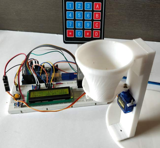 Automatic Pet Feeder using Arduino