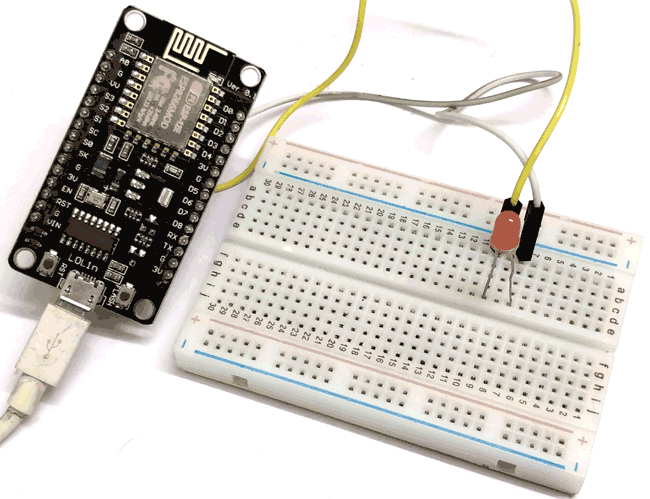 Getting Started with NodeMCU ESP-12 using Arduino IDE