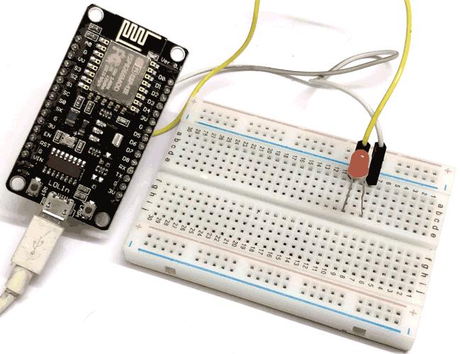 Blink LED with NodeMCU ESP-12