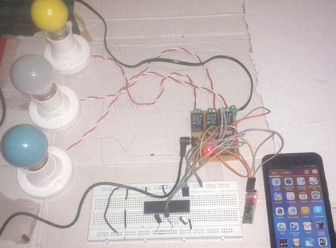 bluetooth controlled home automation system using 8051 microcontrollerSwitches Automating The Switch In Any Circuit Using 8051 #20