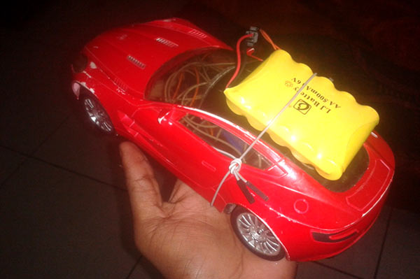 Bluetooth Controlled Car Using Android Mobile