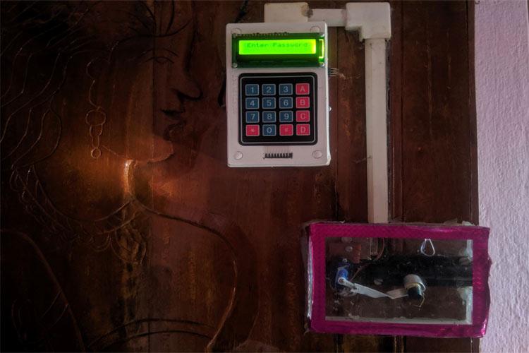 Password based Digital Keypad Security Door Lock using Arduino