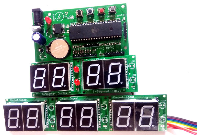 Real Time Clock Using 8051 Microcontroller And Rtc Ic – Fondos de
