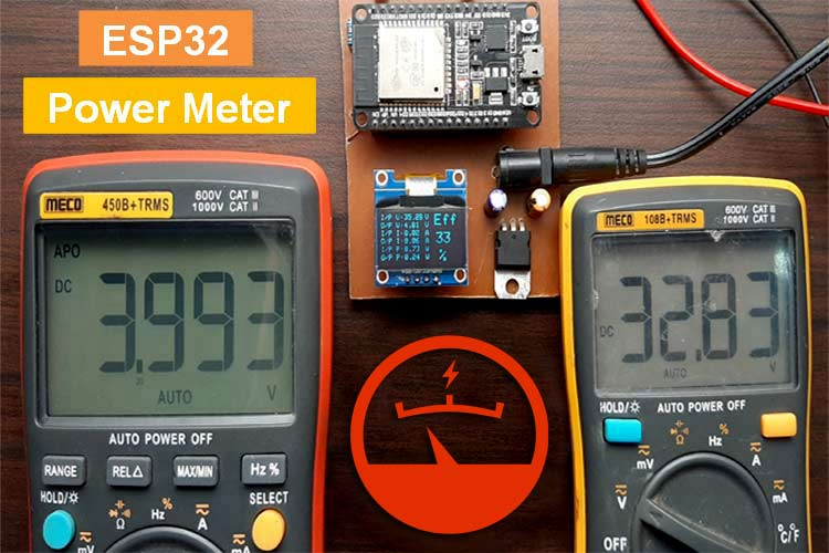 Arduino and ESP32 Based Power Meter