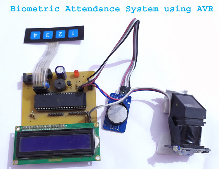 Fingerprint Based Biometric Attendance System using AVR