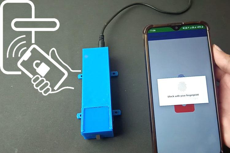 Fingerprint Controlled Solenoid Door Lock using Arduino