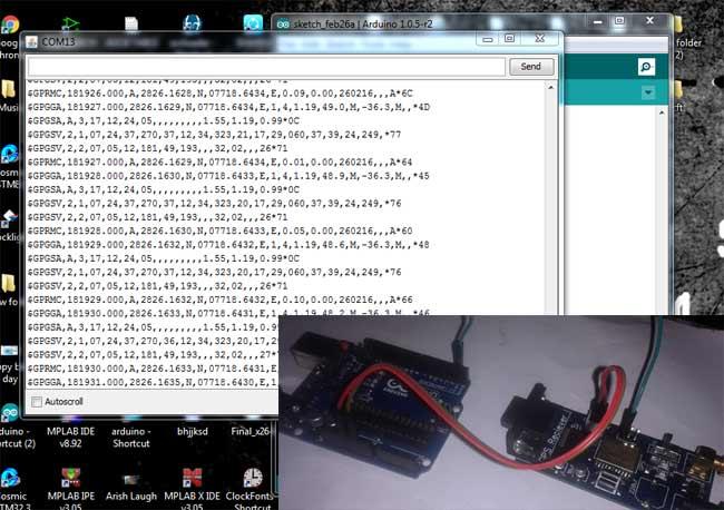 Vehicle Tracking Device >> GPS Interfacing with Arduino Uno   Arduino GPS Tutorial