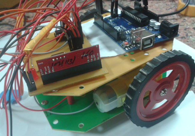 Accelerometer Based Hand Gesture Controlled Robot using Arduino