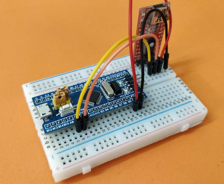Getting Started with STM32F103C8T6 STM32 Development Board (Blue