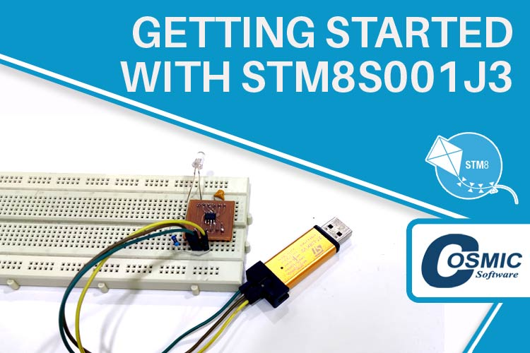 Getting Started with STM8S001J3