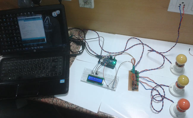 Computer Controlled Home Automation using Arduino: Project