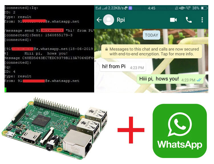 How to install WhatsApp on Raspberry Pi to Send and Receive Messages