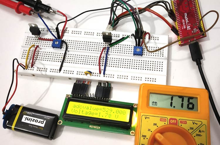 How to use ADC in ARM7-LPC2148- Measuring Analog Voltage