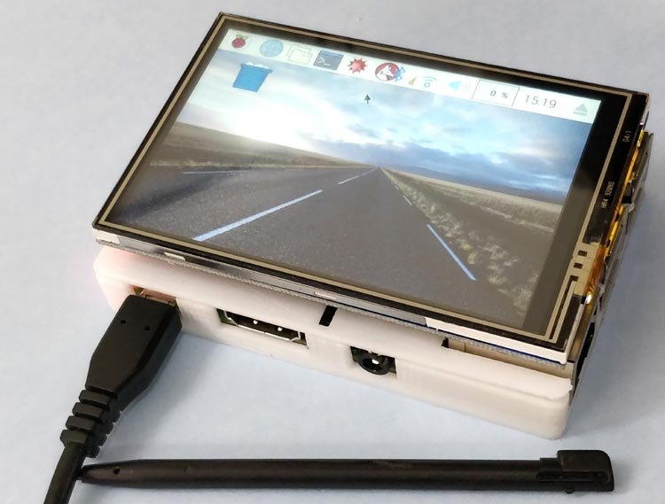 Interfacing 3.5 inch Touch Screen TFT LCD with Raspberry Pi