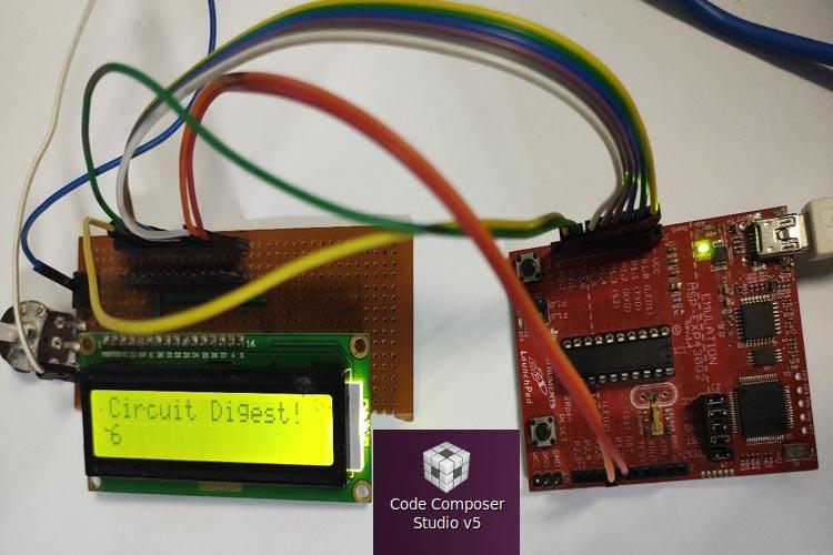 Interfacing Alphanumeric 16*2 LCD Display with MSP430