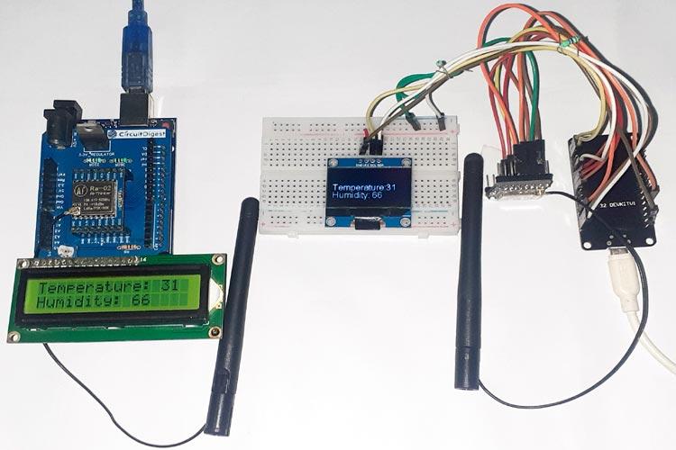 Interfacing ESP32 SX1278 LoRa Module with ESP32