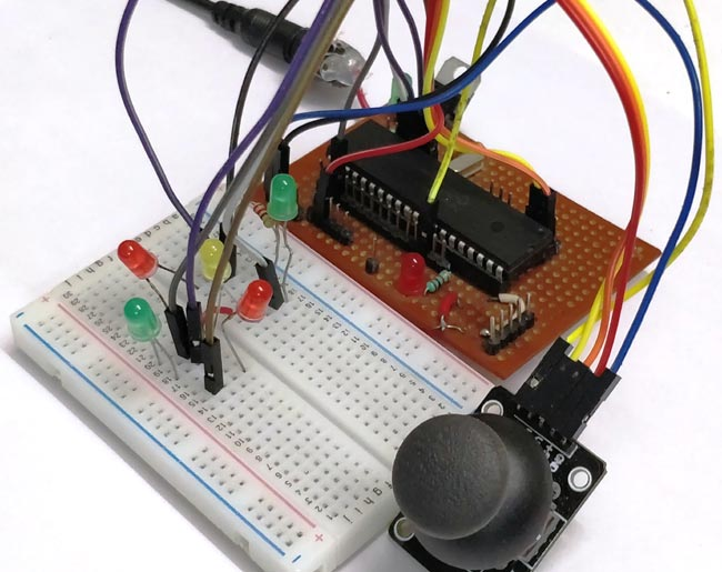 Interfacing Joystick with PIC Micro-controller
