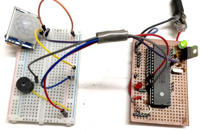 Interfacing PIR Sensor with PIC Micro-controller
