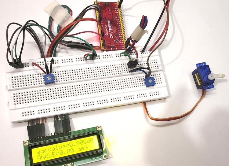 Interfacing Servo Motor with ARM7-LPC2148