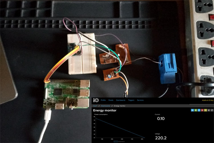 IoT Based Raspberry Pi Smart Energy Monitor