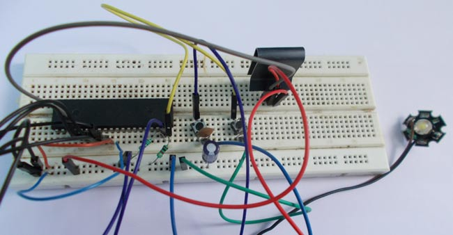 power led dimmer using atmega32 avr microcontroller pwm
