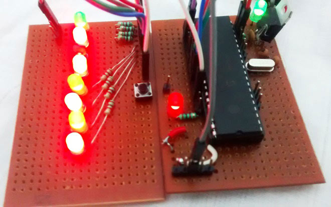 Blinking Led Using 8051