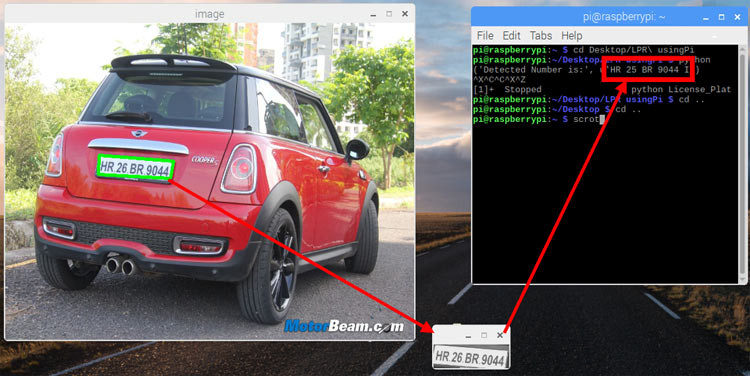 Car License Plate Recognition using Raspberry Pi and OpenCV