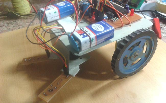 Line Follower Robot using 8051 Microcontroller